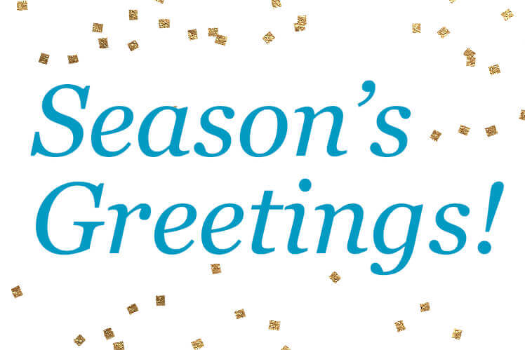 Happy Holidays and Happy 2019 from Westcore Europe