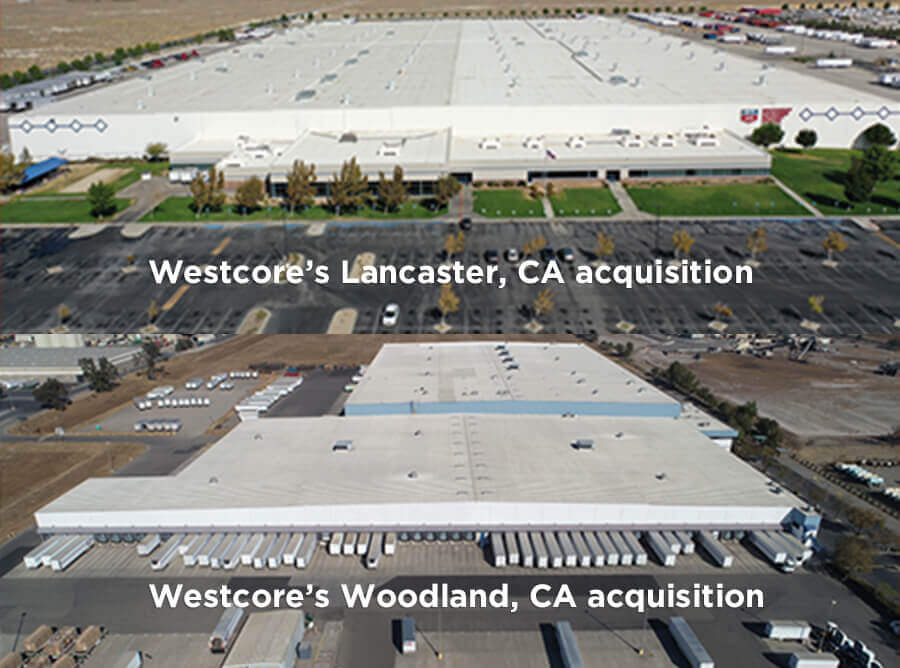 Westcore Acquires Two Rite Aid Distribution Warehouses in California for $108 Million